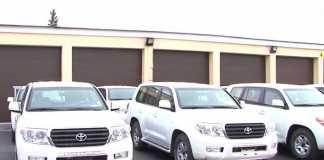 США подарили Госпогранслужбе 35 бронированных Volkswagen Amarok и Toyota Land Cruiser