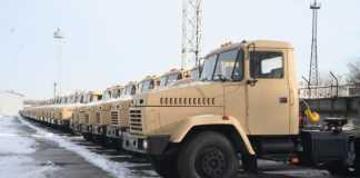КрАЗ передаст Египту более 100 грузовиков