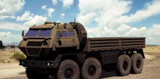 На фото неофициальный прототип четырехосного КрАЗ – «Конвой»