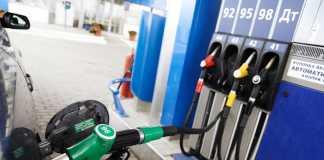 На АЗС Украины дорожает бензин