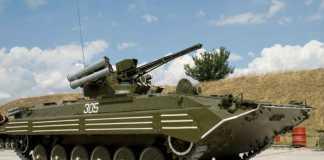 В Житомире модернизировали БМП-1