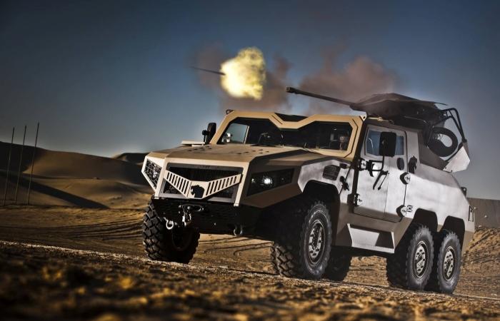 Арабский бронеавтомобиль: NIMR