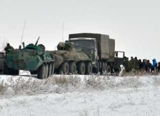 Террористы «ЛНР» на КамАЗе ворвались в Ростовскую область