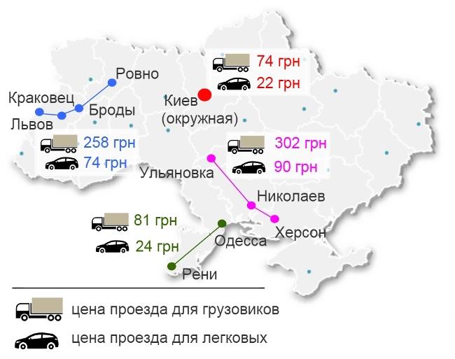 Проекты платных дорог в