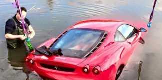Ferrari F430 в канале
