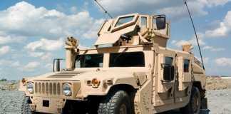 США передадут Украине 230 внедорожников Humvee