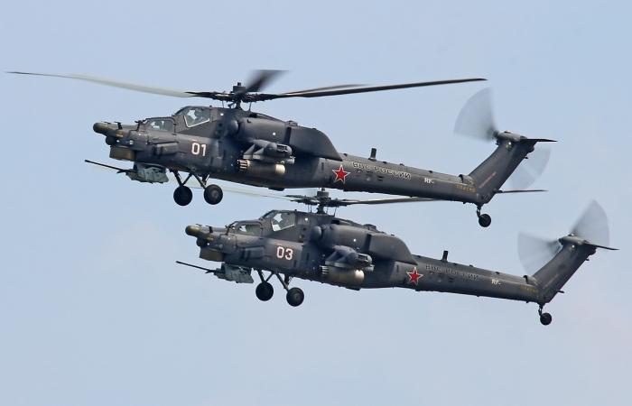 Вертолеты Ми поднимаются в воздух на украинских двигателях