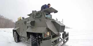 Пять фактов о броневике Saxon AT-105