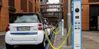 Станция заправки электромобилей