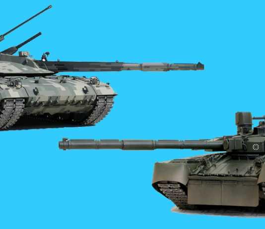 Т-14 «Армата» против «БМ Оплот»