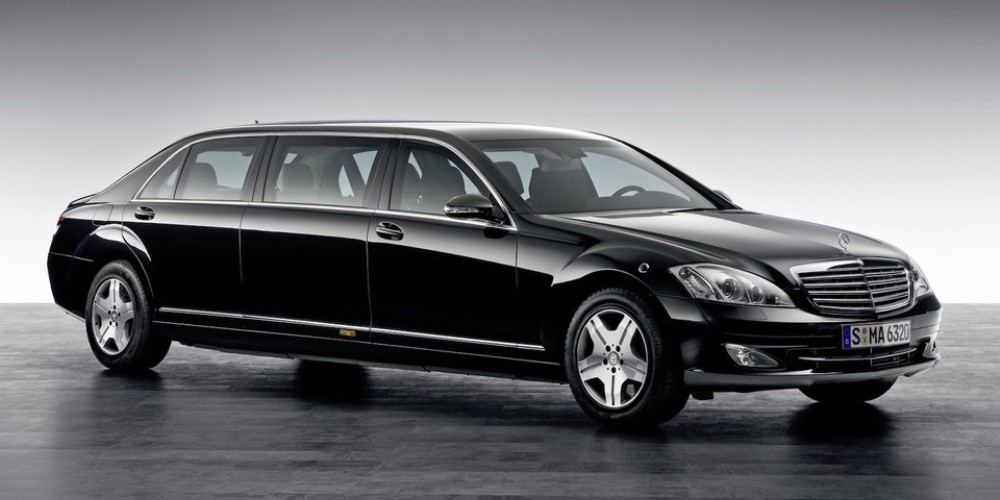Mercedes- Maybach S600 Pullman