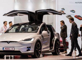 Презентация электромобиля Tesla Model X