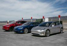 Электромобили «Тесла»: Model S, Model X, Model 3