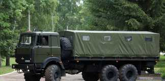 Армейский МАЗ 6317