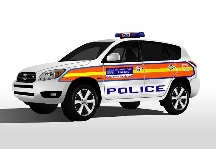 Toyota RAV4 для Национальной полиции Украины