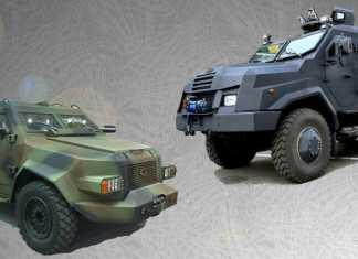 Бронеавтомобили Барс-8 и Варта-2