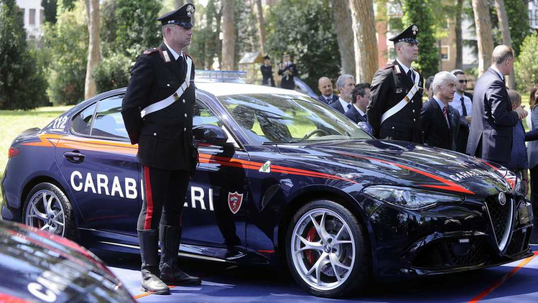 Полицейская Alfa Romeo Giulia