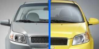 ЗАЗ Вида - Chevrolet Aveo