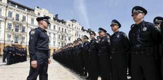 Полиция Украины, Киев