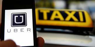 Сервис вызова такси Uber - в Украине