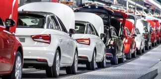 Производственная линия Audi