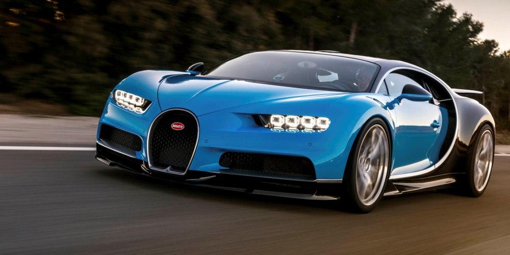 Bugatti Chiron, 2016