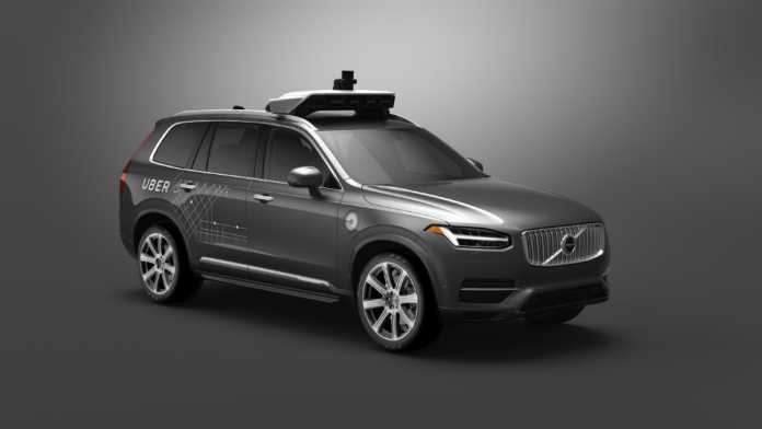 Беспилотное такси Uber на базе Volvo XC90