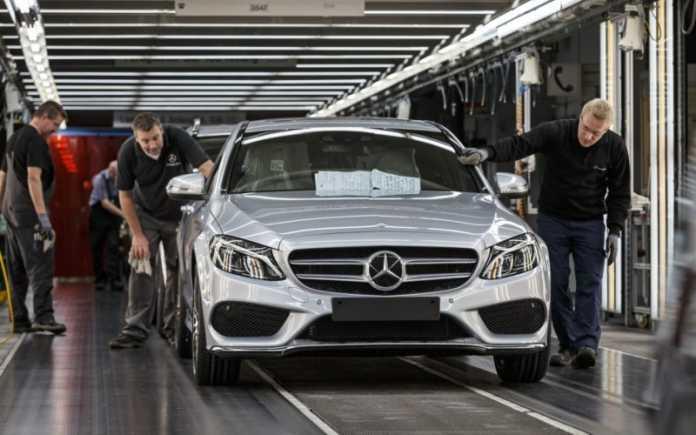 Производство Mercedes