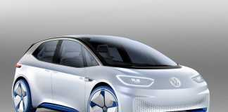 Прототип электромобиля Volkswagen I.D.