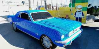 Ford Mustang из Lego