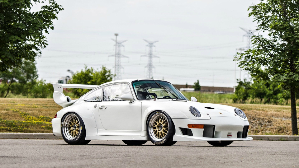 Porsche 911 GT2 Evo 1996 года
