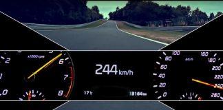 Kia разогнали до 244 км/ч