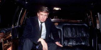 Старый лимузин Трампа