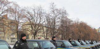 «Нивы» полиции Украины