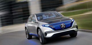 Электромобиль Mercedes EQ