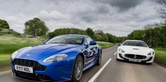 Aston Martin и Maserati