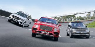 Mercedes, Land Rover, Bentley