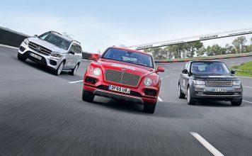 Mercedes, Land Rover, Bentley