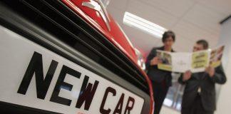 Продажи новых автомобилей