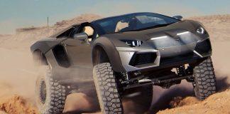 Как мог бы выглядеть внедорожник Lamborghini