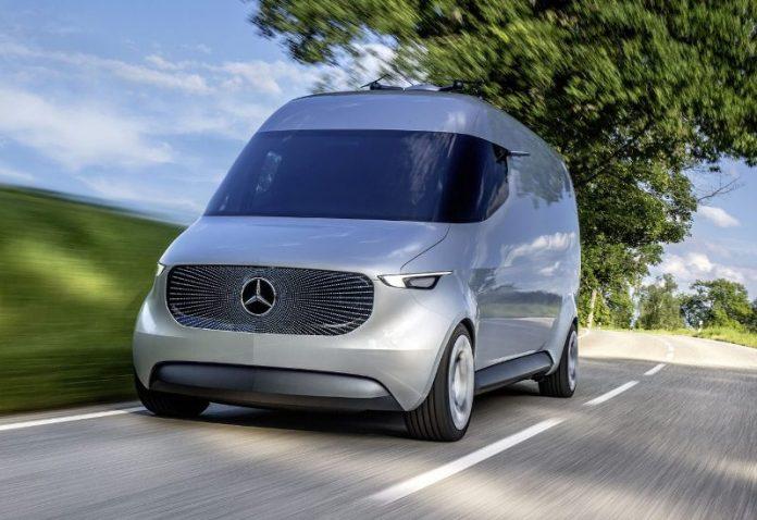 Концепт электрического фургона Mercedes