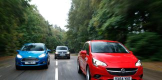 Opel Corsa, Ford Fiesta, Volkswagen Polo
