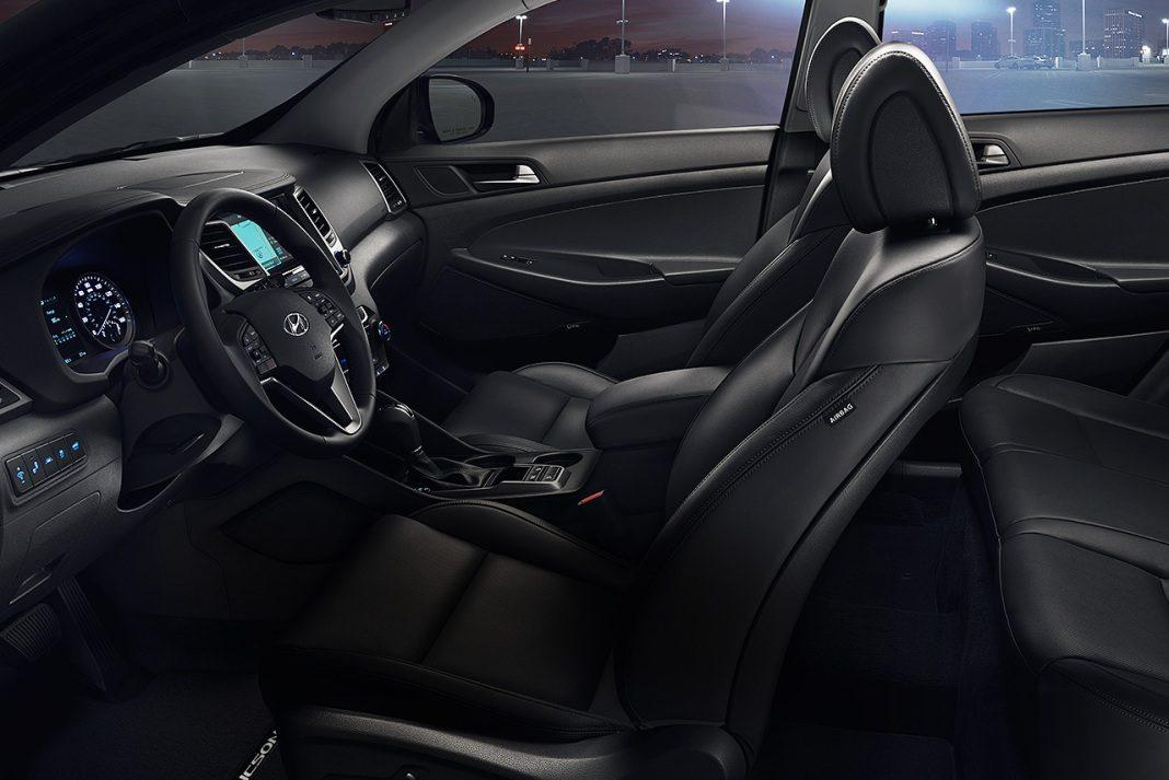 Интерьер Hyundai Tucson 2017