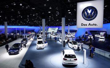 Volkswagen на автосалоне во Франкфурте, 2017 год