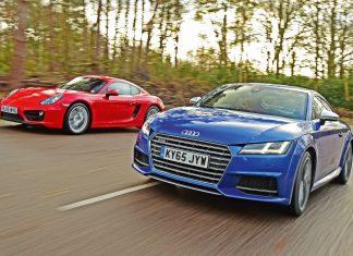 Audi TT vs Porsche Cayman