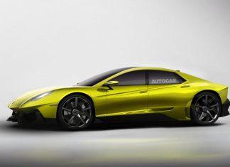 Седан Lamborghini