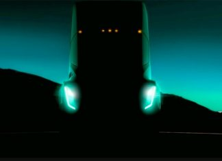 Тизер грузовика Tesla