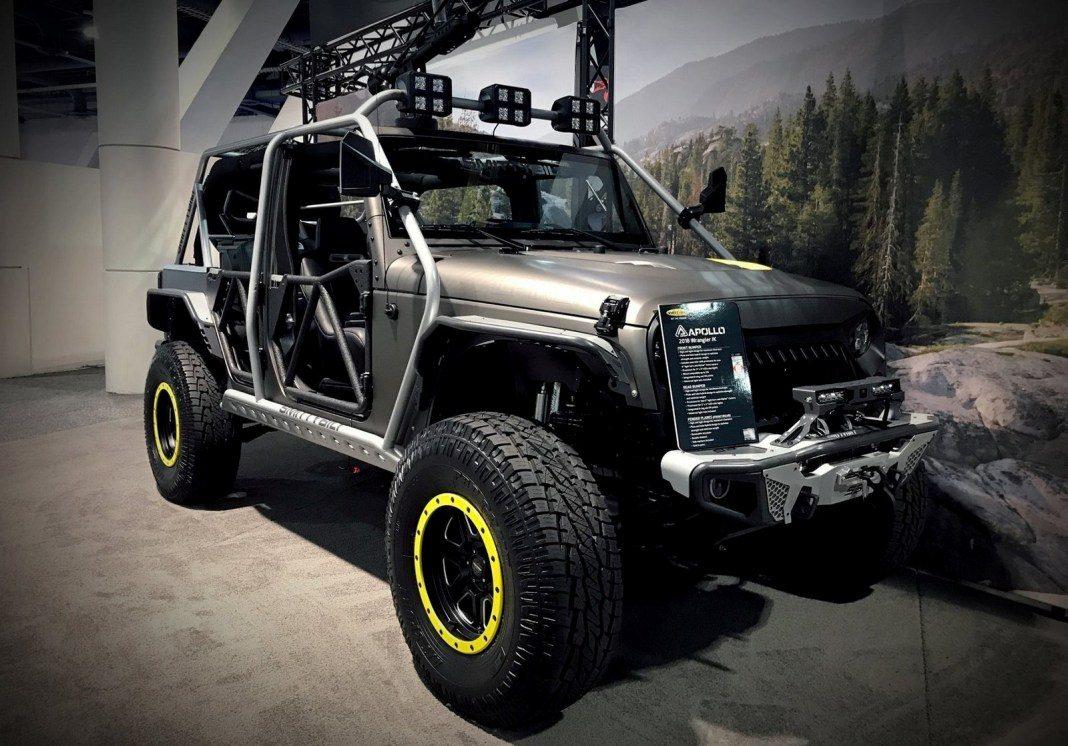 Alpine Jeep Wrangler Hellbender
