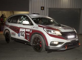 Honda CR-V Racecar