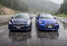 Infiniti Q50 vs Lexus IS